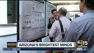 Scholars complete summer internship with research - Video