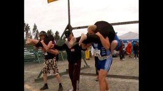 Wife-Carrying Championships - Video