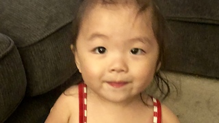 Sassy Baby Caught Rolling Her Eyes  - Video