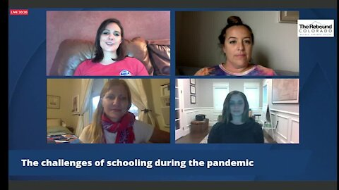 The challenges of schooling during the coronavirus pandemic: A roundtable discussion with Colorado parents