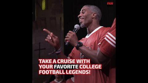 Take A Cruise With Your Favorite College Football Legends
