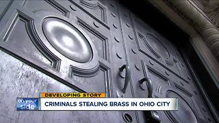 Brass stolen from historic building in Ohio City despite efforts to revitalize neighborhood - Video
