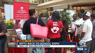 WPTV Back-to-school Expo held in Wellington - Video