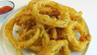 Betty's onion rings of fire - Video