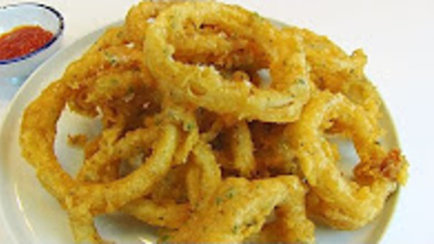 Betty's onion rings of fire