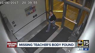 Missing teacher's body found in Flagstaff - Video