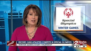 Record 2,800 athletes compete in Special Olympics Oklahoma