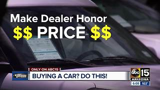 Things to know when buying a car - Video