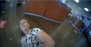 VIDEO: Woman Arrested for Refusing to Wear Face Mask at TEXAS Bank