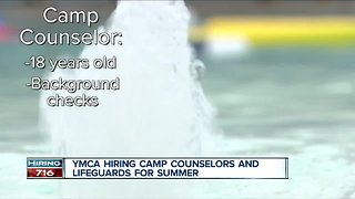 YMCA looking to fill up to 500 positions this summer