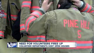 Volunteer fire open houses - Video