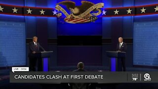 Highlights from from Tuesday's presidential debate