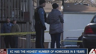KC has the highest number of homicides in 8 years - Video