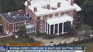 U.S. government shutting down Russian compound on Eastern Shore of Maryland - Video