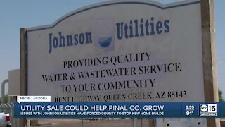 Johnson Utilities sale could help Pinal County grow