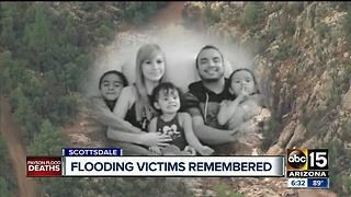 Payson flash flooding victims remembered at church - Video