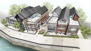 New Flats East Bank project seeks initial approval - Video