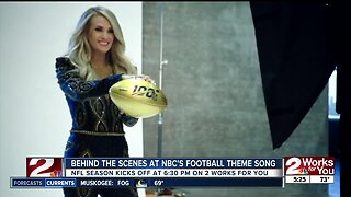 Behind the scenes at NBC's football theme song