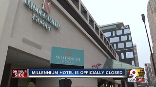 Millennium Hotel closed, awaits wrecking ball