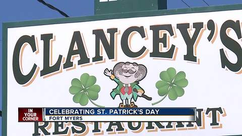 St. Patrick's Day at Clancey's