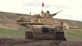 Idaho National Guard conducts tank training on the Orchard Combat Training Center