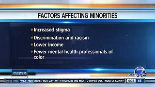Minorities face higher rates of mental health issues, lower treatment rates