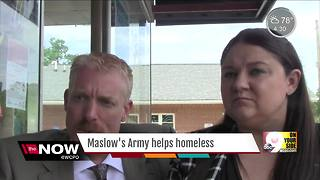 Couple creates Maslow's Army based on their own experiences - Video