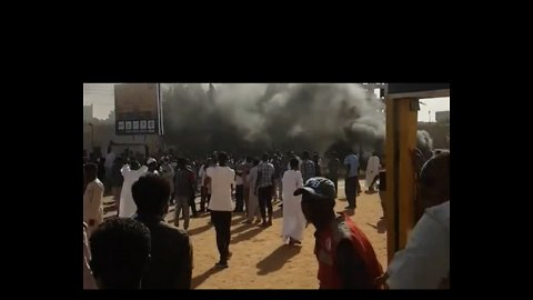 Gunfire Rings Out During Protests in Khartoum