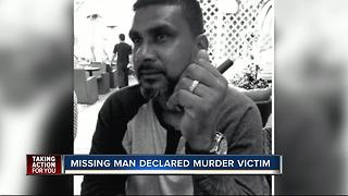 Missing man declared murder victim