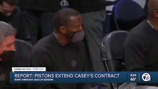 Pistons finalizing deal to extend Dwane Casey's contract