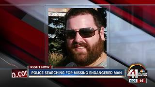 Overland Park police looking for missing 30-year-old man - Video