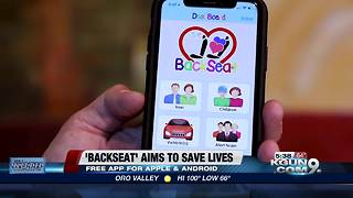 'Backseat' aims to save lives - Video