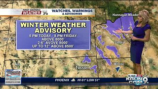 April's First Warning Weather December 6, 2018