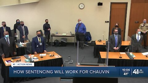 How sentencing will work for Chauvin