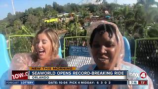 SeaWorld Orlando opens new water ride Infinity Falls