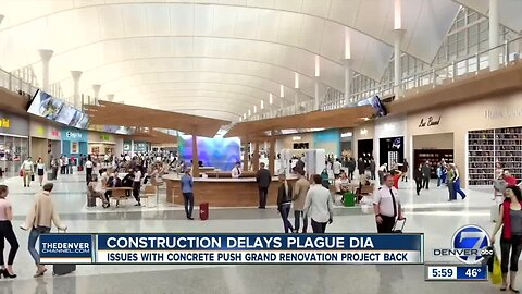 More delays: DIA faces 18-month delay for terminal renovations