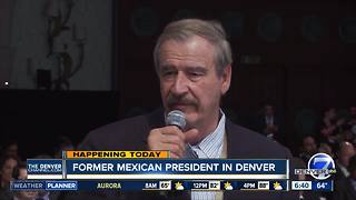 Former Mexican President to visit Denver - Video