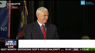 Pence - Its A Choice Between Two Futures Not Between Two People - Video