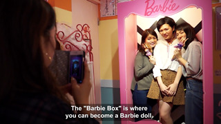 Check Out The Japanese Café That Is All About The Barbie Theme - Video