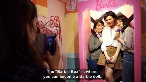 Check Out The Japanese Café That Is All About The Barbie Theme