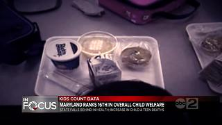 Report: Health data on kids in Maryland is worrisome - Video