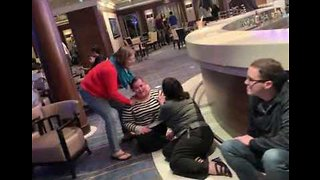 Passengers Panic As Cruise Ship Rocked By High Wind - Video