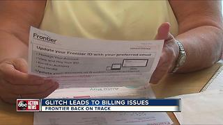 Frontier resolves glitch that triggered hundreds of billing complaints - Video
