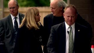 Mayor Barry Leaves Belcourt Theatre After Son's Memorial Service - Video