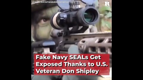 Fake Navy SEALs Get Exposed Thanks to U.S. Veteran Don Shipley