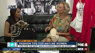 Fashion tips for mature women