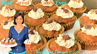 Best Carrot Cupcakes Ever