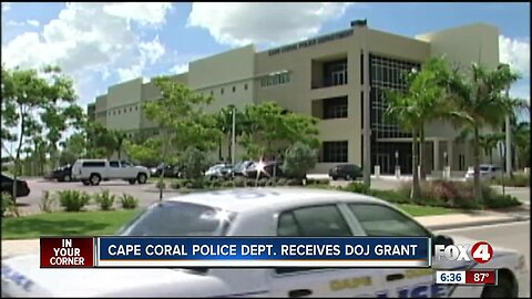 Cape Coral Police Department receives grant