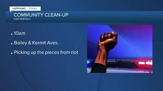 Community organizes cleanup of Bailey Ave.