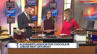 Alzheimer's Association holding chocolate jubilee next Saturday - Video